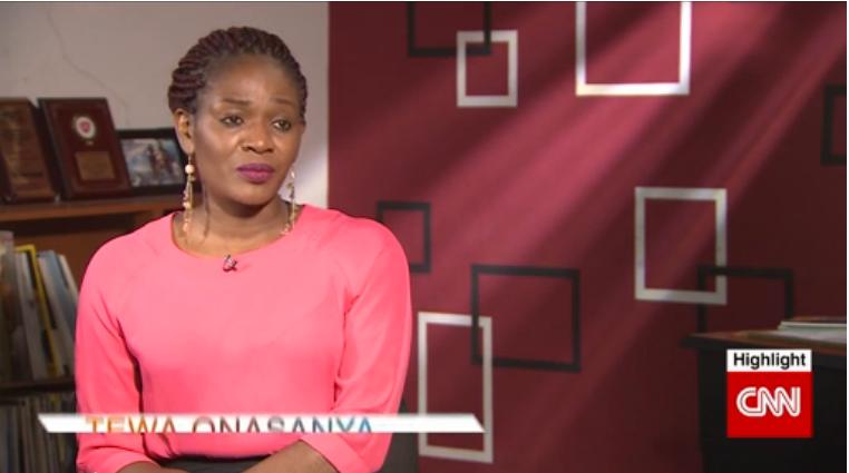 EXQUISITE MAGAZINE PUBLISHER - TEWA ONASANYA SPEAKS TO CNN