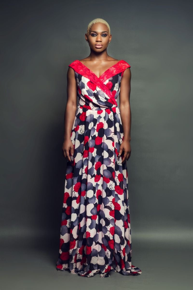 Meg Otanwa & Ezinne Asinugo debut Floral & Feminine Pieces for Uju Estelo's 2015 Collection!