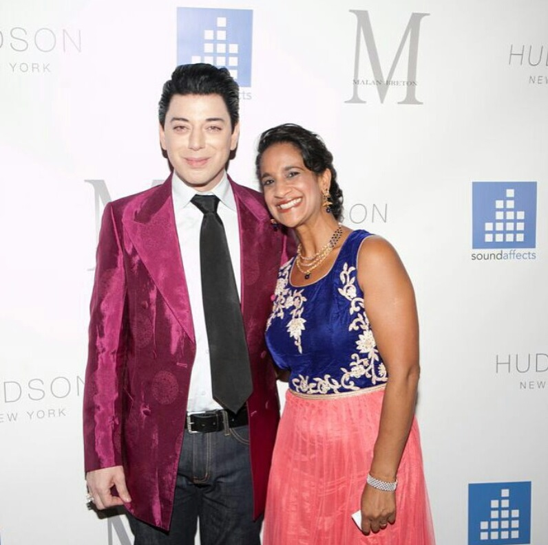 tribeandelan-Malan-Breton-Holds-Fashion-Week-Wrap-Party-Against-Cancer-designer- malan breton and Dr jhaveri of sound affects (3)
