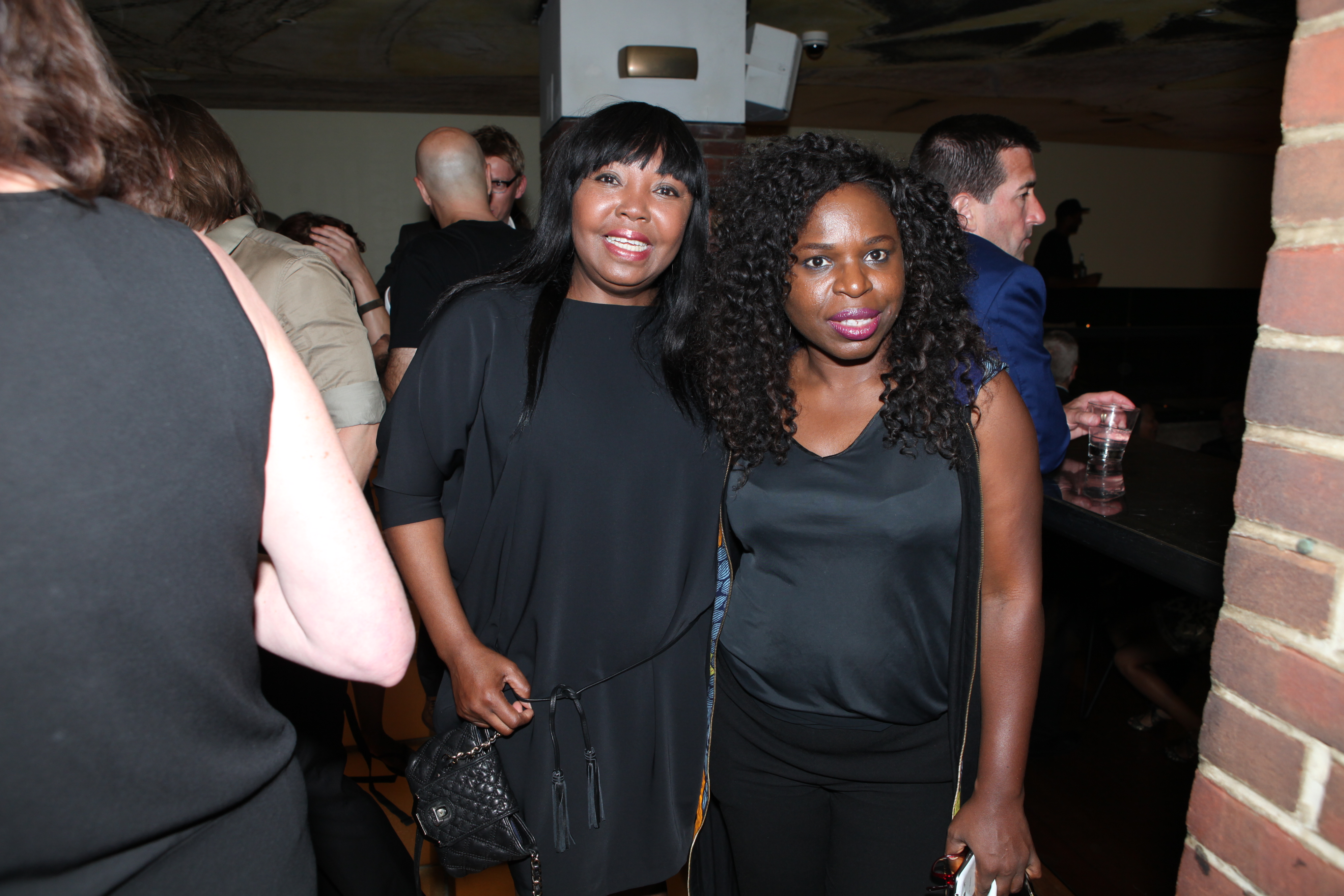 tribeandelan-Malan-Breton-Holds-Fashion-Week-Wrap-Party-Against-Cancer-moriam musa and Nkechi Ogbodo of Kechies Project