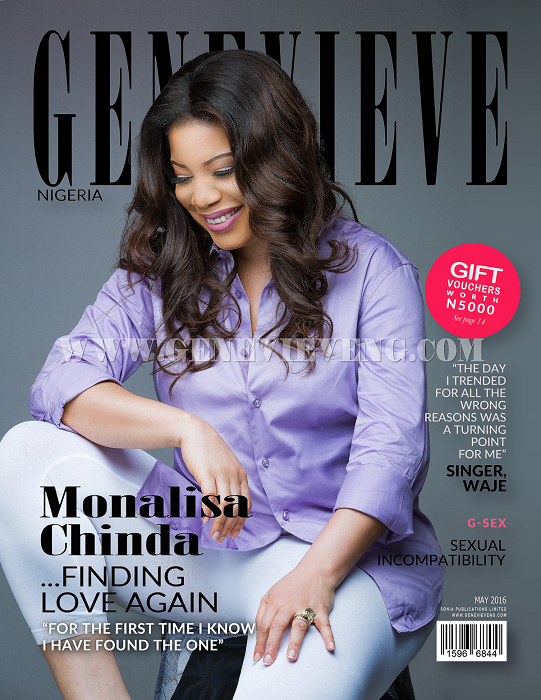 "Once You Clock 35 and Counting, Men in This Country Call You A Dead Engine."" Monalisa Chinda speaks on Finding Love Again in Genevieve Magazine"