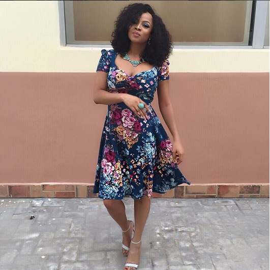 Toke Makinwa Slays In Dos Clothing Summer Collection