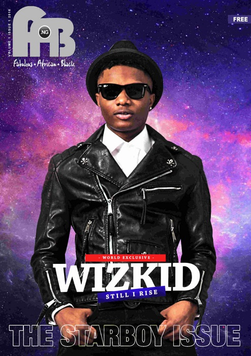 WizKid Serves Expensive Bathroom Behaviour for FAB Digital Magazine