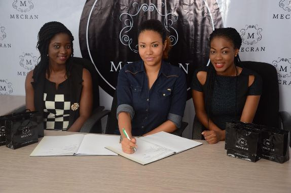 Move Over Toke Makinwa as Anna Banner Signs On As New Brand Ambassador For Mecran Cosmetics!