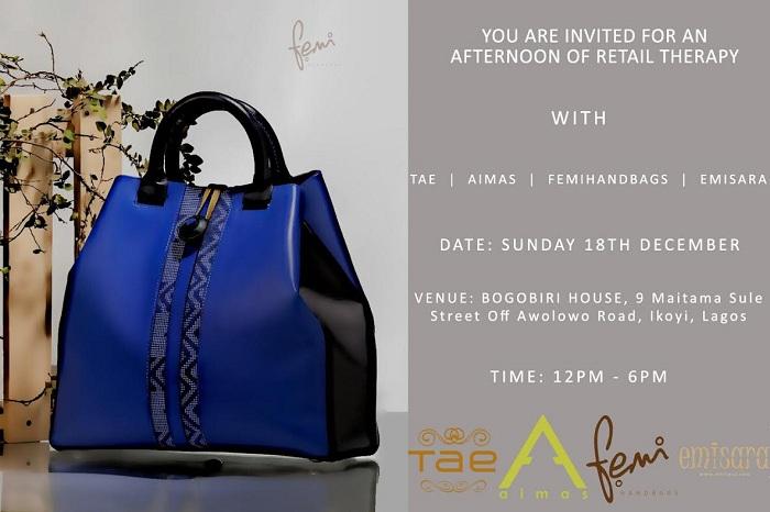 Tae , Emisara , Femi Handbags ,and Aimas Hold Exhibition at Bogobiri