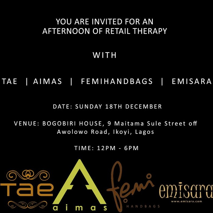 Tae , Emisara , Femi Handbags ,and  Aimas Hold Exhibition at Bogobiri