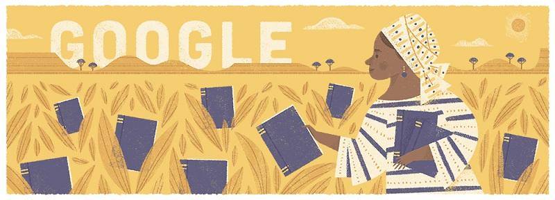 Google Celebrates Amede's Mum - Flora Nwapa