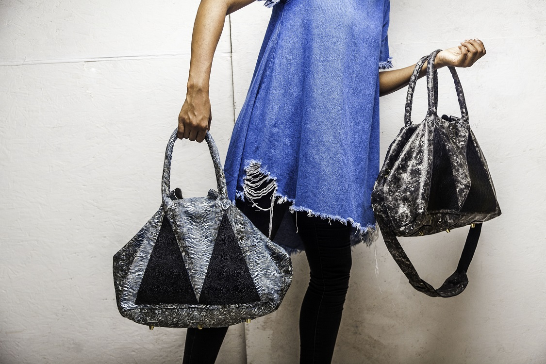Alluring and Uniquely African Leather Accessories from Marte Egele
