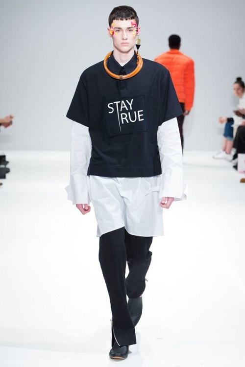 Orange Culture Showcases at London Scout Event during London Fashion Week AW17