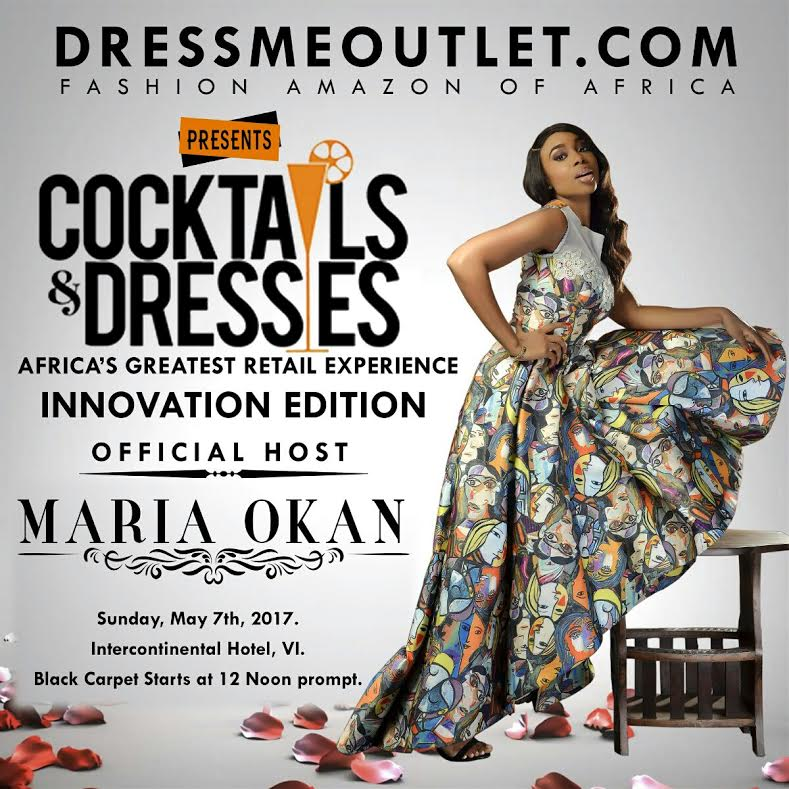 Maria Okan of Beat 99.9 FM Announced as Official Host of Dressmeoutlet.com's Cocktails & Dresses 2017: Innovation Edition