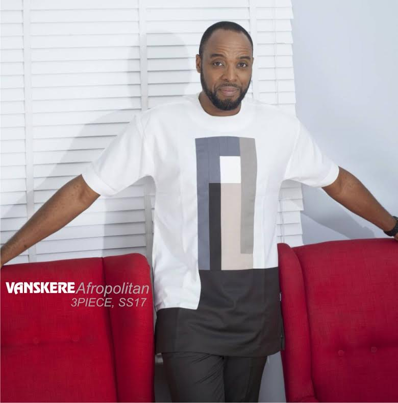 Nollywood Actor, Kalu Ikeagwu Gives A Sneek Peek on Vanskere 3 Piece Collection