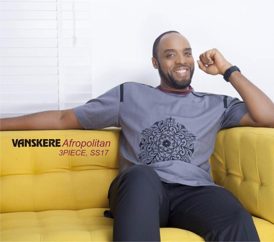 Nollywood Actor, Kalu Ikeagwu Gives A Sneek Peek on Vanskere 3 Piece Collection