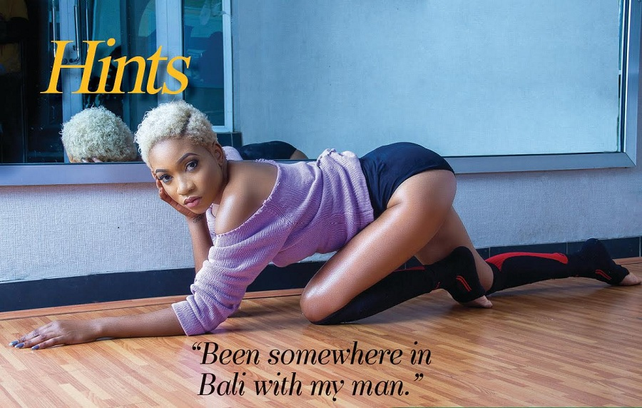 The Lady Vhodka - Jennifer Oseh Exudes Confidence for Hints Magazine May edition.