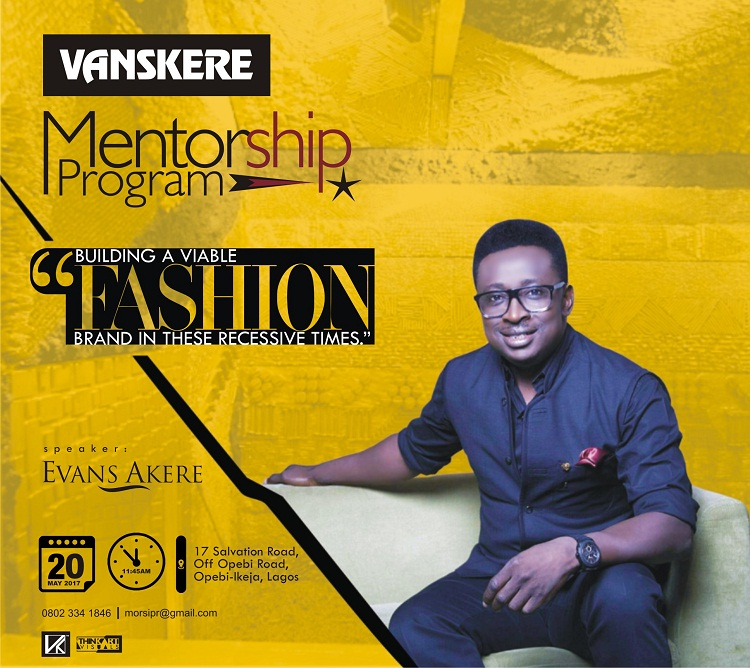 Learn How To Build A Viable Fashion Brand In These Recessive Times with Evans Akere