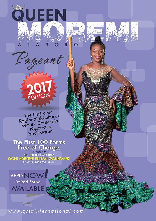 Queen Moremi Ajasoro Pageant 2017 An Initiative of The House Of Oduduwa Foundation Kicks Off