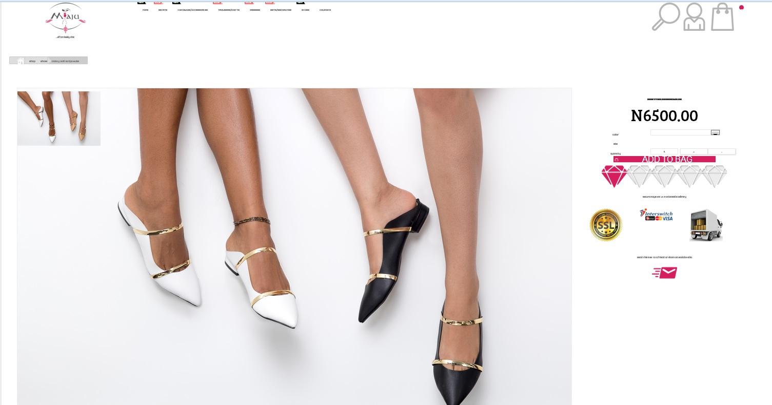 Lookalike : Did Nigerian Women Lifestyle brand Maju Photocopy Uk Footwear brand - Malone Souliers ?