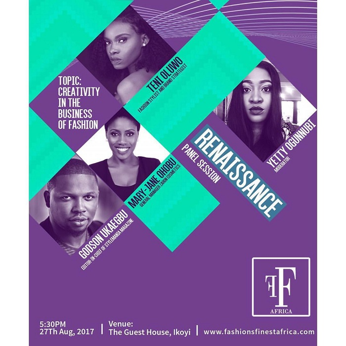 Fashion Finest Africa Renaissance Set To Hold this Weekend - Meet the Panelists