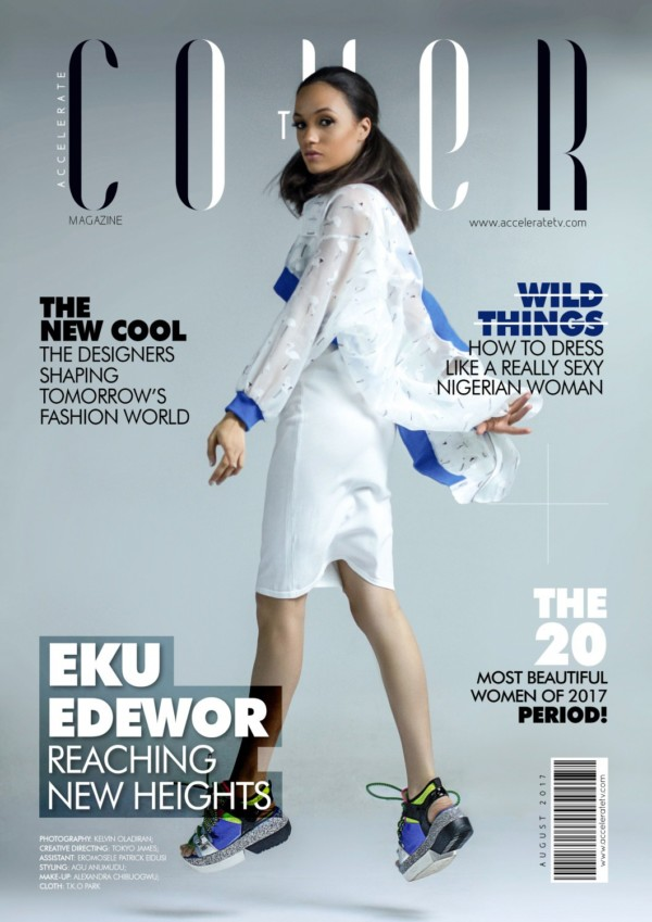 "How Motherhood Changed my Style - Eku Edewor speaks on  Accelerate TV's ""The Cover"" Magazine"