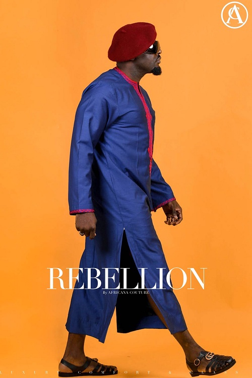 Abuja Menswear Brand Africana Couture Starring Jim Iyke in Rebellion