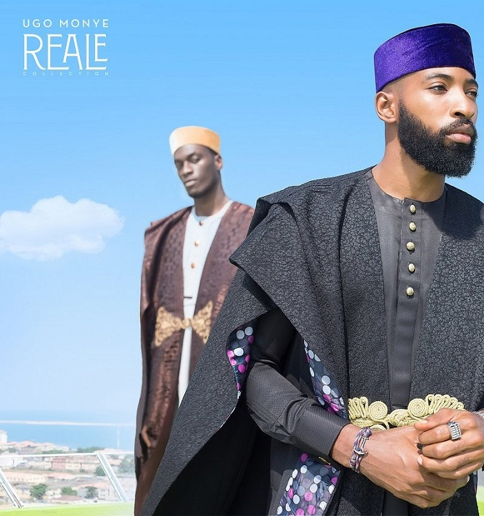 "Agbada Wears a Modern Look in  ""The Reale Collection"" by  Ugo Monye"