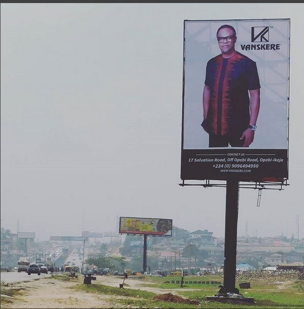 Top Fashion Brand - Vanskere Welcomes Travellers Into Lagos In Grand Style .