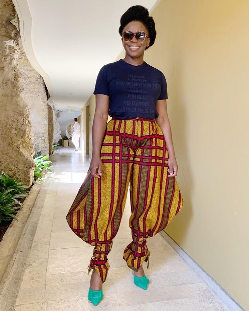 Chimamanda Adichie Celebrating A True Nigerian Fashion Diva Tribe And Elan
